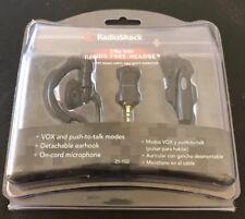NEW Radio Shack 2 Way Radio Hands-free Headset