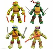 4 PC Set USA Teenage Mutant Ninja Turtles Classic Collection TMNT Figures Toys
