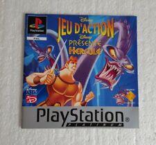 Livret Disney's Hercules - PS1