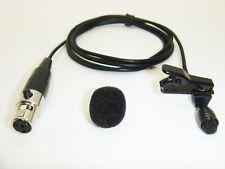 SHURE TA4F 4 PIN MINI XLR RADIO TRANSMITTER PROFESSIONAL MINI LAPEL MICROPHONE