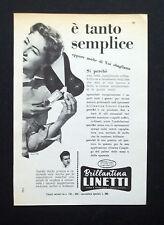 C731 - Advertising Pubblicità- 1959 - BRILLANTINA LINETTI