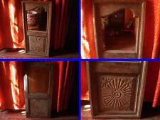 Ancienne Fenetre montée en Miroir , Inde