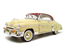 1950 CHEVROLET BEL AIR CREAM 1:18 DIECAST MODEL CAR BY MOTORMAX 73111
