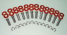 "12 Tattoo Machine Coil Cores set with Phenolic coil core washers Washers 1""coils"