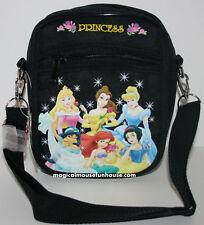 Disney Princess Shoulder Handbag Purse Black