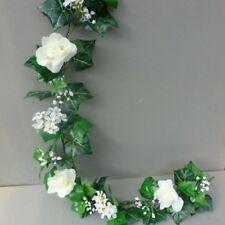 8FT! Artificial English Ivy, Roses&Blossom Garland Wedding/Festival Decoration