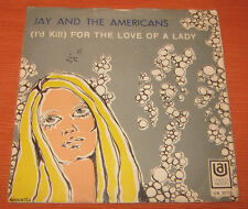 """Jay And The Americans 45 Giri """"WALKIN'N IN THE RAIN-FOR THE LOVE OF THE LADY""""UA"""