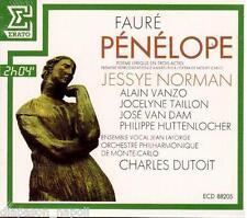 Fauré; Pènèlope / Dutoit, Norman, Vanzo, Van Dam - CD Erato