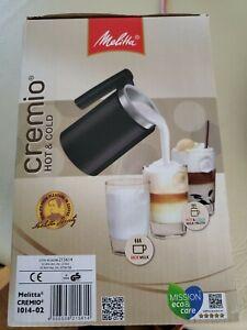 Melitta 1014-02 Cremio Milk Frother Black 100-150 ml Non-Stick Genuine New