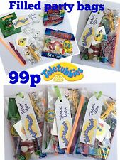 Teletubbies party bags, pre filled sweets toys, puzzle, tattoo boys, girls