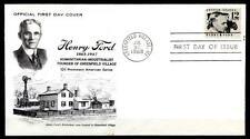 Industrial Henry Ford (1863-1947). FDC. estados unidos 1968