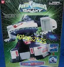 Power Rangers Lost Galaxy Deluxe Zenith Carrierzord New Factory Sealed 1999