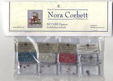 Cross Stitch ~ Nora Corbett Embellishment Pack for Dancer #NC115E