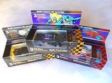 Set of 3 vintage radio control BATMAN BATMOBILE + SPIDER-MAN CAR + 57CHEVY 1979