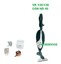 Aspirapolvere Vorwerk Folletto VK135 con SPAZZOLA HD40 (NO VK 150 140 136 135)