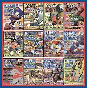 Mean Machines Sega – Master System - Megadrive - UK Magazine – PDF Download