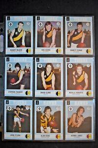 SCANLENS VFL 1977 COMPLETE 132 CARD SET  VG+/EX   HTF