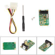 Mini PCI-E to PCI-E Express 1X Extension Cord Adapter Card with USB Port