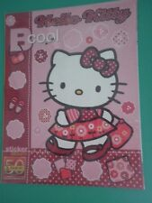 CS  ALBUM FIGURINE PANINI - HELLO KITTY B COOL - VUOTO  Empty