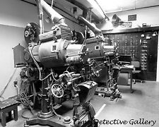 Movie Projection Equipment in Theater, Catalina Is. Calif. -Historic Photo Print