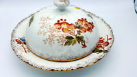 19th century Porcelain covered dish
