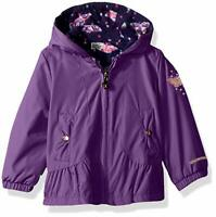 London Fog Baby Girls Reversible Sensible & Soft Jacket Coat 12m