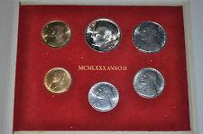 1980 Città del Vaticano Giovanni Paolo II (ANNO II) Medaglia Set-UNC