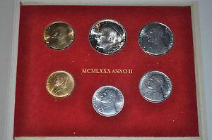 1980 Vatican City John Paul II (II Year) Coin Set - Unc
