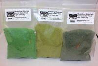 Scenic Flock Fine Green Multipack - 3 x 50g Packs - Hornby Wargame Diorama
