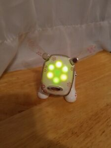 Hasbro Sega 2005 Toy I-Dog White Pink Dots Electronic Music Robot Speaker TESTED