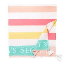 "Nwt Victoria'S Secret Beach Blanket 60"" X 50"""
