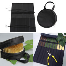 Professional Ikebana Florist Tool Kits Bag Cutting Tool Tape & Kenzan Bag