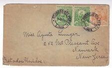 1899 Lima Peru to Newark New Jersey