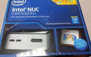 Intel Nuc Kit d3401wykh BOXD34010WYKH1 Chassis i3  processor 4th Gen