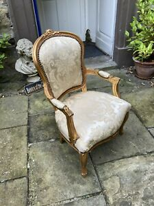 Twentieth century French style salon chair