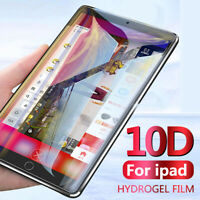 10D Full Screen Protector Hydrogel Film Guard For Apple iPad 7 Mini 5 Pro Air 6