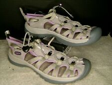 KEEN Women's size 8 Waterproof Sandals Whisper 5124-Grey/Purple Hiking Shoes