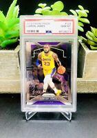 2019-20 Panini Prizm LEBRON JAMES #129 Los Angeles Lakers PSA 10 Gem Mint 📈🔥