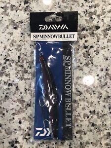 Daiwa Salt Pro SP Minnow Bullet Sinking 6in 1.5 oz  Black Purple