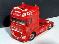 "DAF XF SSC MY2017 4x2 ""Michael Fuhrbetrieb"" WSI truck models 01-3022"