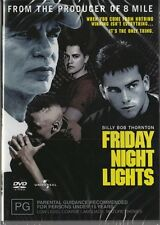FRIDAY NIGHT LIGHTS - BILLY BOB THORNTON - NEW & SEALED REGION 4 DVD