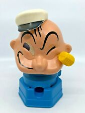 Vintage Popeye Hasbro 1968 Gumball Machine Bank Preowned [11]