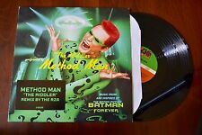 "Method Man ""The Riddler"" Batman Forever Wu Tang RZA Record lp VG++"