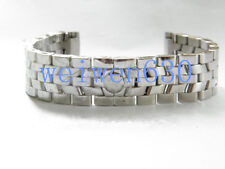 19MM Stainless Steel STRAP BAND BELT + CLASP BUCKLE FIT For Franck Muller