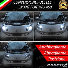 CONVERSIONE FARI FULL LED SMART FORTWO 450 6000K LED CANBUS ALTA LUMINOSITA'