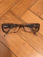 Montatura occhiali da vista da donna leopardato tartarugato MaxMara come nuovo