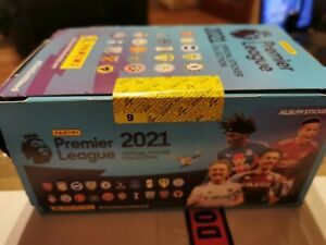 Panini Premier League 2021 Sticker Collection - this listing is for 25 Packs