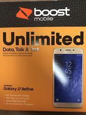 samsung Galaxy j7 refine - boost mobile 32 gb Gold New In Box