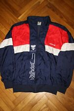 Adidas Rare Originals 80s Nylon Vintage Mens Tracksuit Top Jacket D7