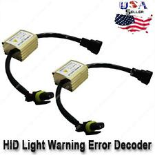 2 pcs Hid Flicker Error Warning Canceller Canbus Capacitors Computer Decoder (Fits: Neon)